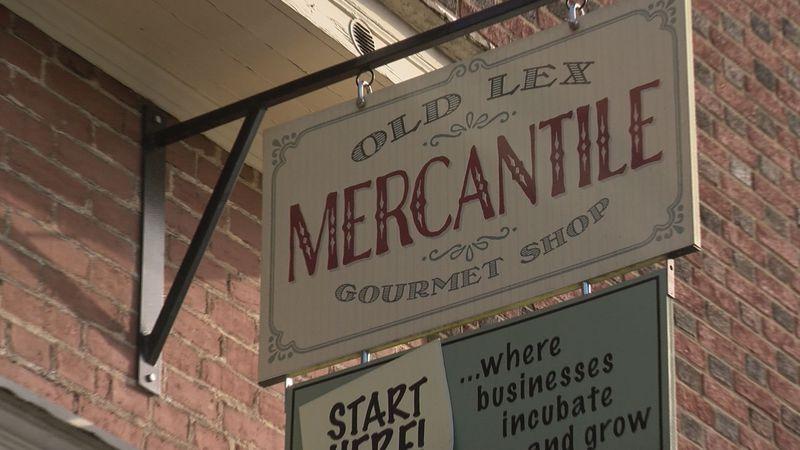 Old Lex Mercantile in Lexington, Va.