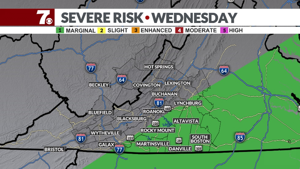 SPC Outlook for Wednesday