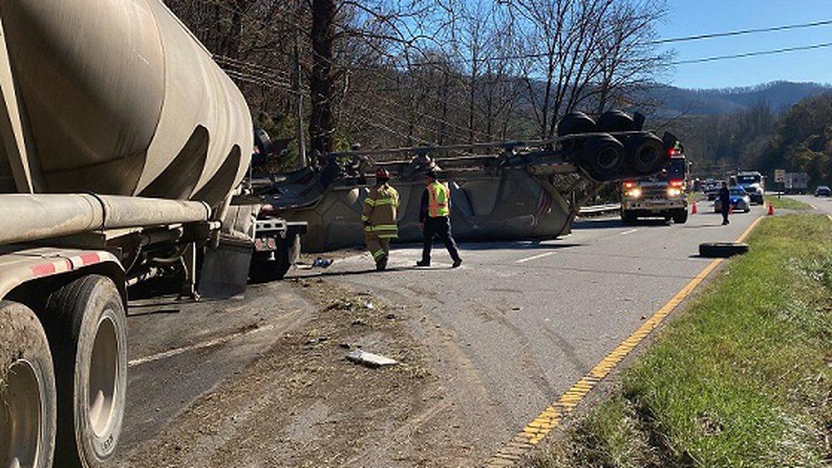 Big Rig Crash on 220 in Roanoke County 11.18.2020