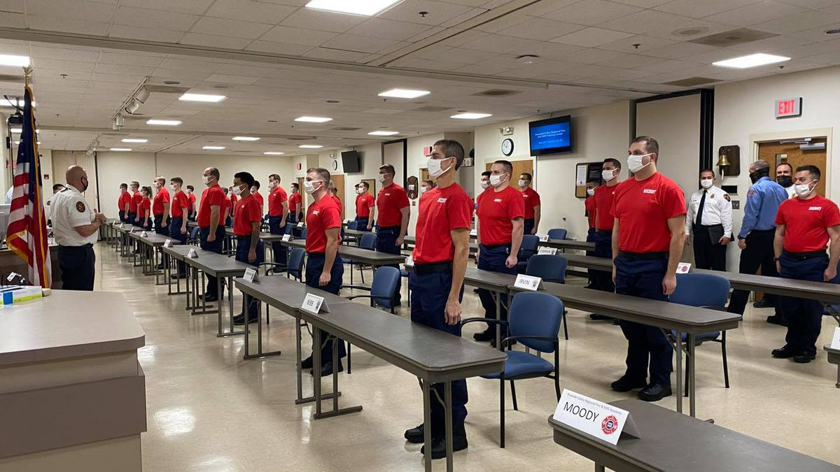 Roanoke Valley Fire-EMS recruits began their first day of academy January 11, 2021.