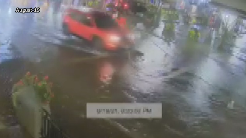 Surveillance video from the City Market Building of flooding on Thursday, August 19