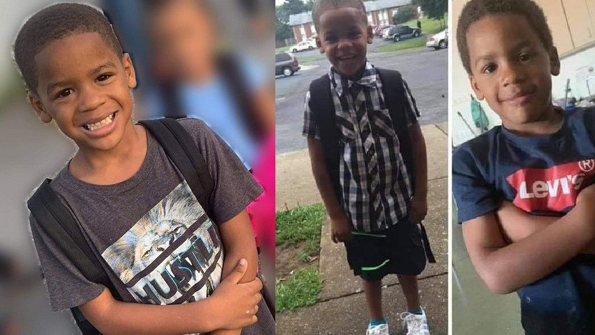 Camden Brown, young boy who died of a gunshot wound in Roanoke August 2, 2021