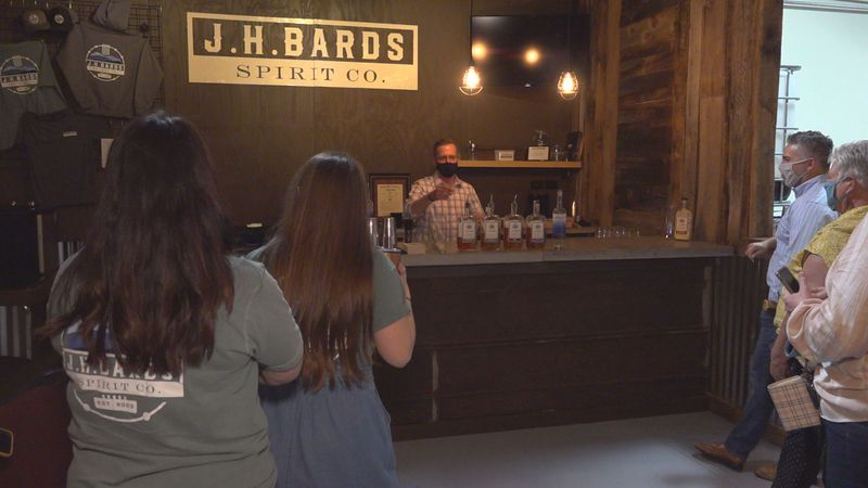 Pulaski County's first legal distillery is set to open its doors on Saturday.