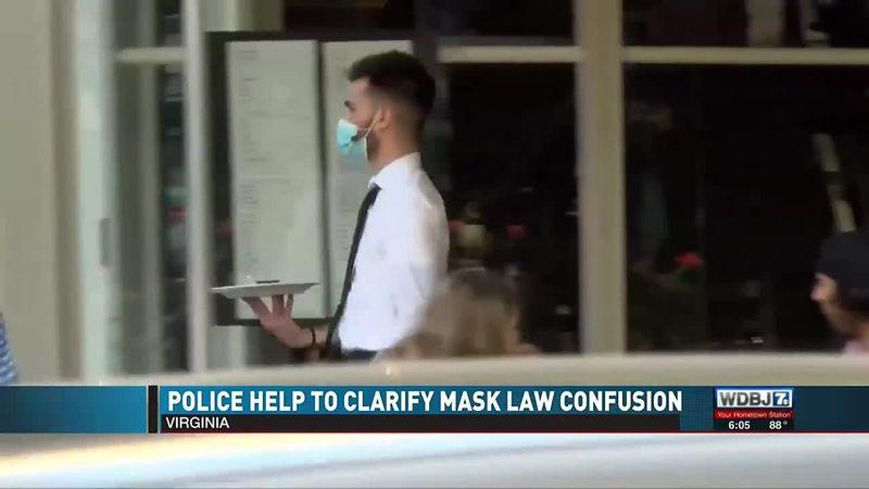 Police Help Clarify Masks June 18 2021
