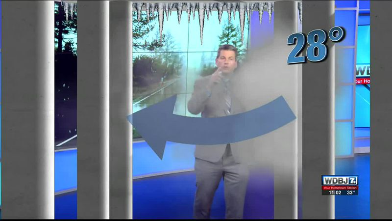 Chief meteorologist Brent Watts explains why the bridges often freeze faster than roads on the...