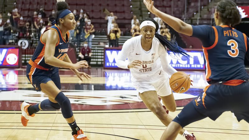 Florida State takes on Virginia at the Donald L. Tucker Center on Sunday, December 15.