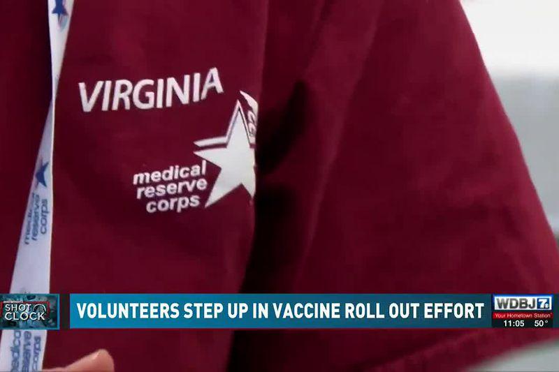 Volunteers Step Up in Vaccine Roll-Out Effort