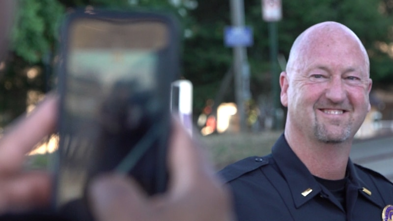 Wallace has taken on a dozen different roles during his time at DPD.