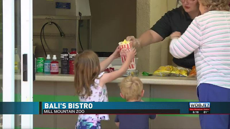 New Bistro at Mill Mountain Zoo