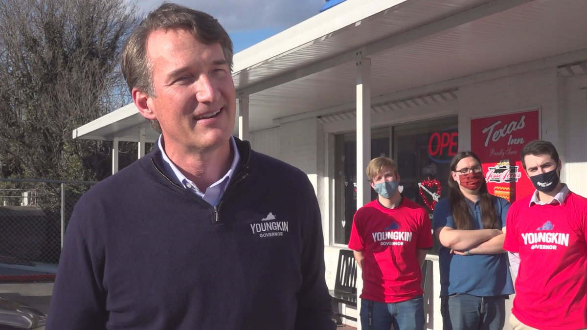 Republican candidate for Governor Glenn Youngkin brought his campaign to Lynchburg Tuesday...