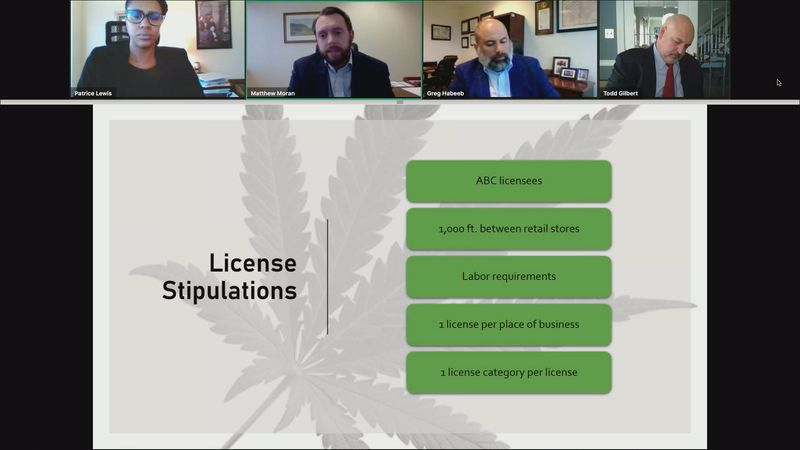During the free virtual session, they presented an overview of the General Assembly's cannabis...