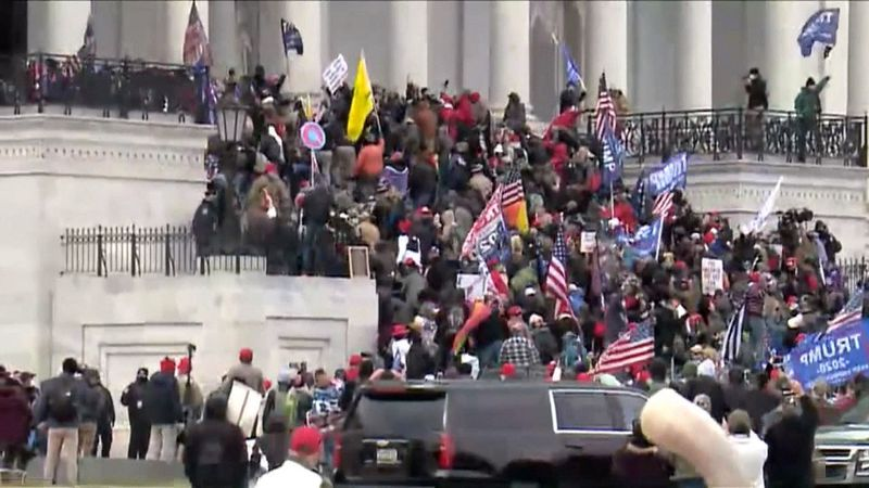 Trump supporters attacked the U.S. Capitol on Wednesday.