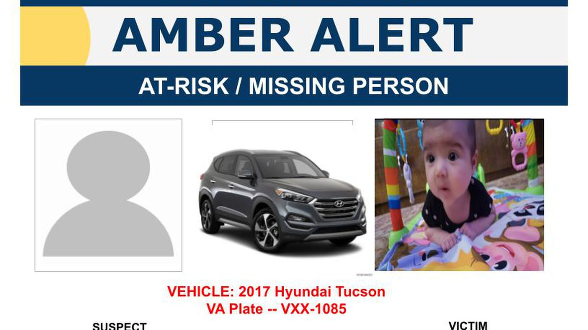 An AMBER Alert has been issued for a 3-month-old abducted out of Chesapeake.