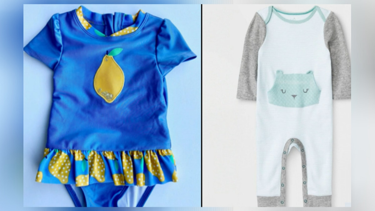 Target has recalled clothing that poses a choking hazard to babies and toddlers.