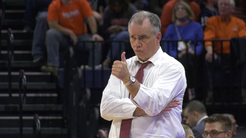 Virginia Tech head coach Mike Young