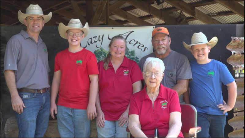 It's a special thing when a farm has a legacy spanning generations. One of those is Lazy Acres...