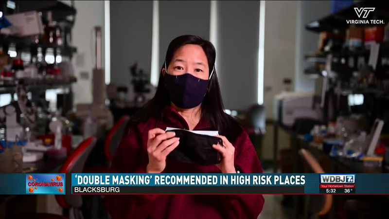 'Double Masking' Recommended In High Risk Places