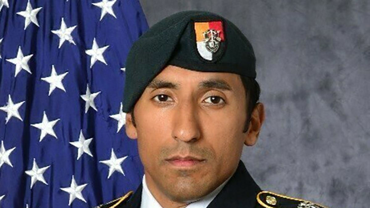 FILE - This undated photo provided by the U.S. Army shows U.S. Army Staff Sgt. Logan Melgar...