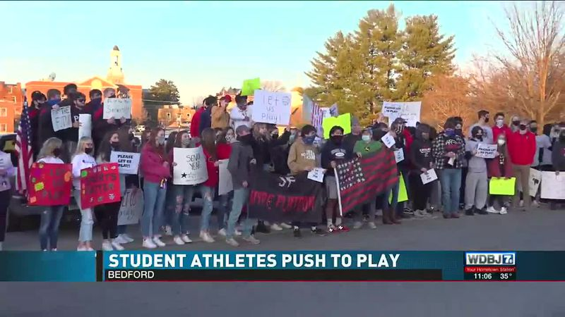 Bedford Athletes Want to Play