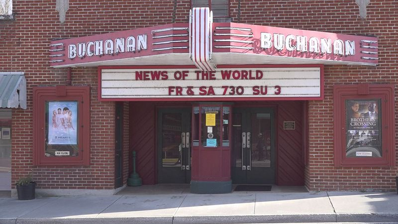 The Buchanan theatre is located in downtown Buchanan on Main Street.