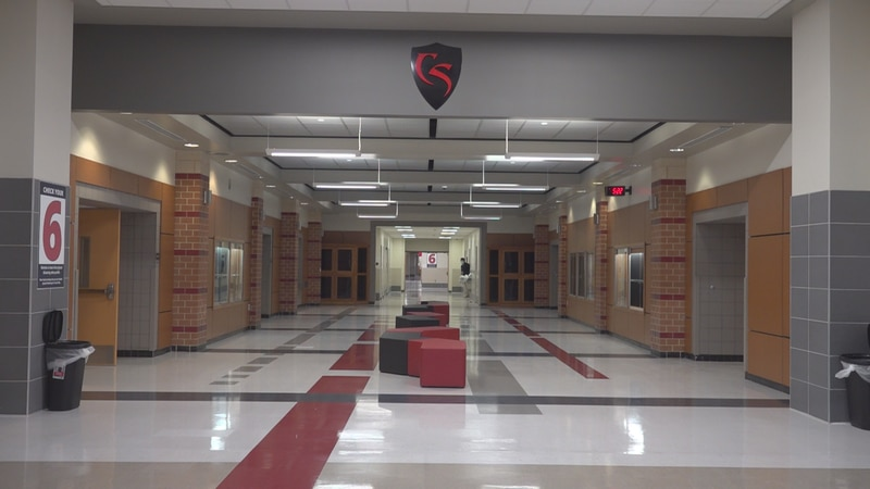 Friday, WDBJ7 got the first tour of the brand new Cave Spring High School. The new layout is...