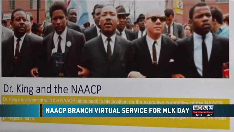 NAACP Chapter MLK Day