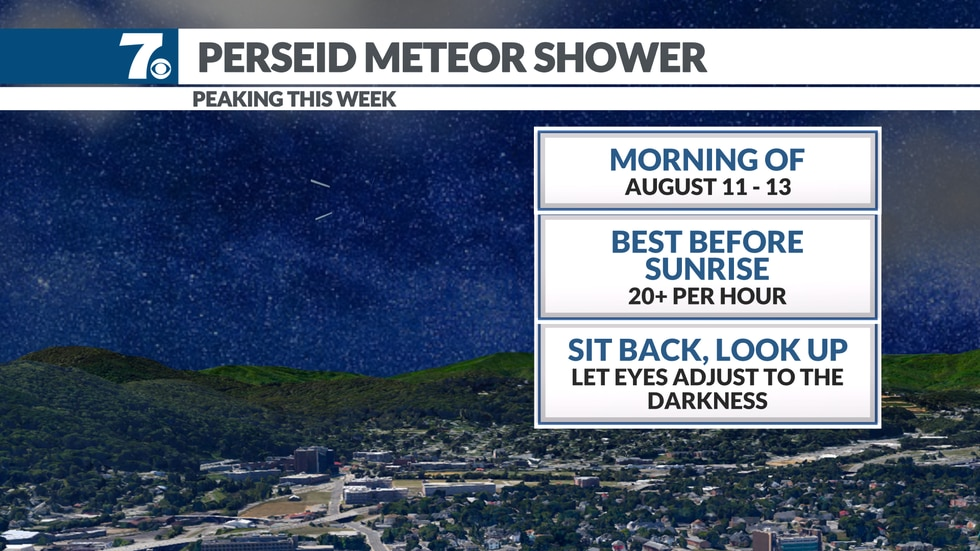 Be sure to look toward the sky between midnight and sunrise over the next few mornings as the...