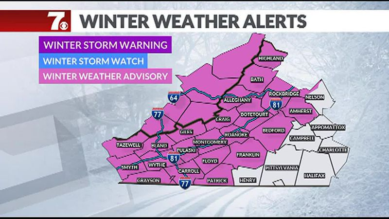 A Winter Weather Advisory goes into effect today with the chance for a light wintry mix....
