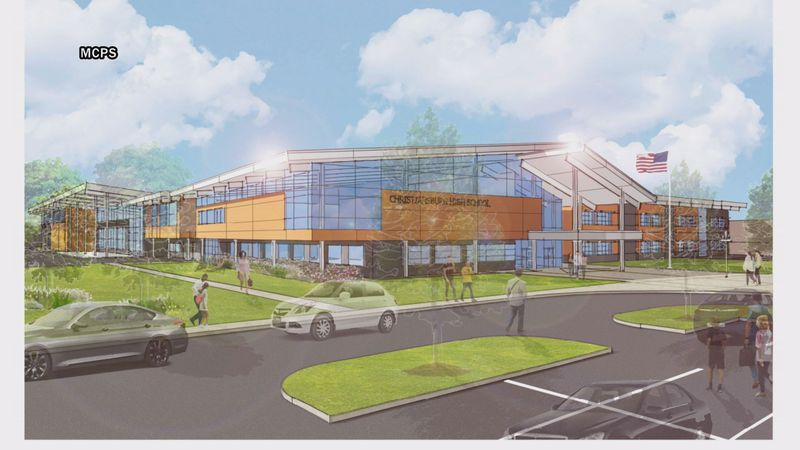 Christiansburg High School is set to get some major upgrades soon, and we're now getting a look...