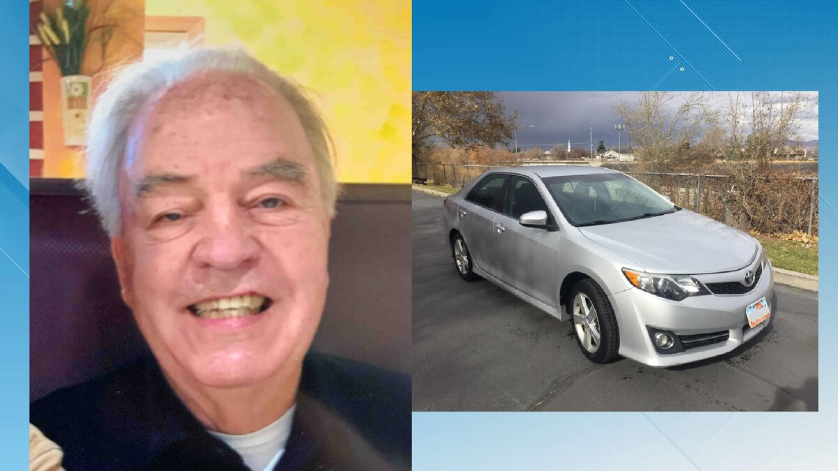 Cowden is pictured with a vehicle that resembles the Camry he is believed to be driving. ...