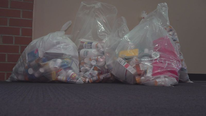 The Radford City Police Department collected pounds of drugs from folks who drove by to drop...
