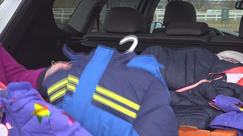 Some coats have already been donated for the Salem Coat Drive being held this Thursday, January...