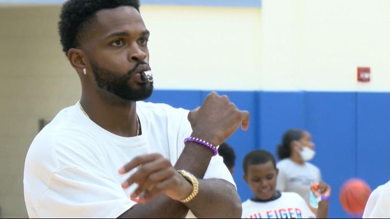 NBA veteran Troy Daniels brings his youth basketball camp back to his alma mater, William...