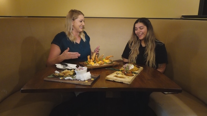 WDBJ7's Katey Roshetko sits down with Vicky Galvez at Inka Grill to sample various Peruvian...