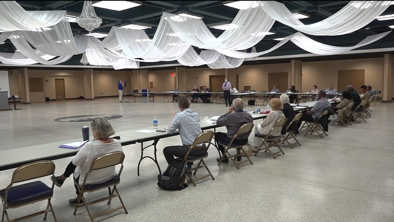 The group met at Berglund Hall Wednesday night to finalize plans before the ideas are presented...