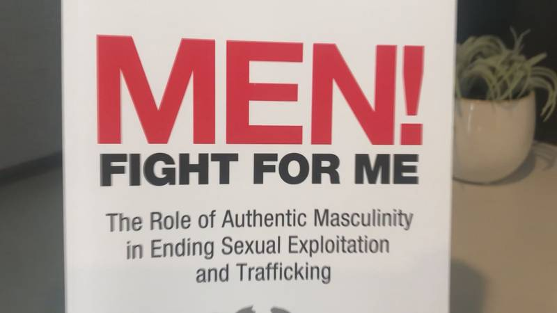 A book that gives men resources to help end sexual exploitation and trafficking