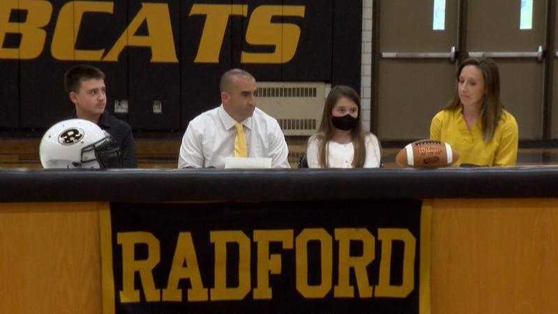 New Radford head football coach Michael Crist