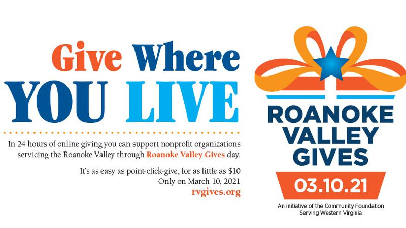 The online fundraiser Roanoke Valley Gives returns Wednesday for the sixth year.