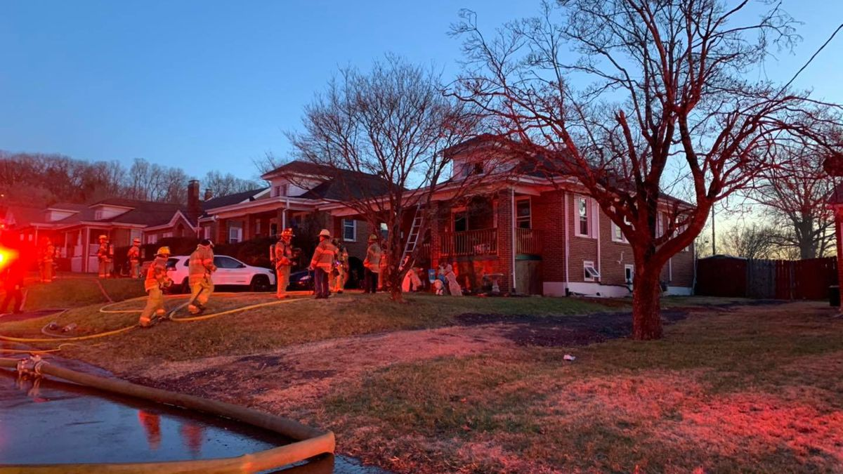 The fire started in the basement of the house and was ruled incendiary.
