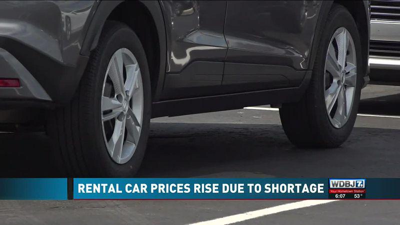 Rental Car Prices Rise Due to Shortage