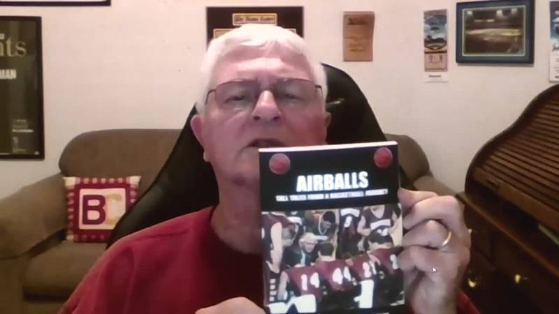 """We talk with the former Bridgewater College basketball coach about his fourth book, """"Airballs."""""""