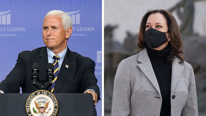 Vice President Mike Pence and Senator Kamala Harris prepare for first and only debate ahead of...