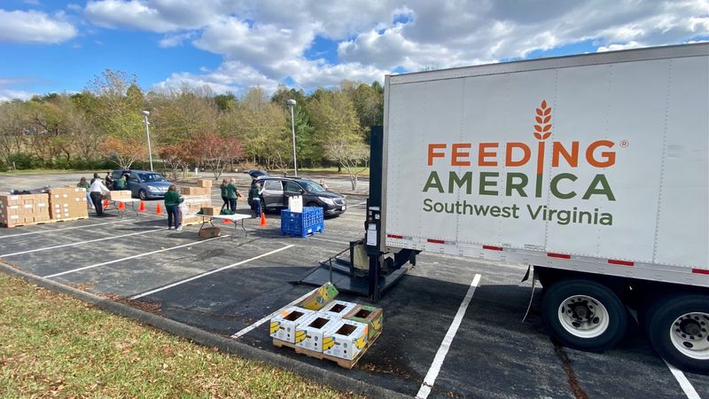 Mobile food distribution events continue to help families throughout southwest Virginia.