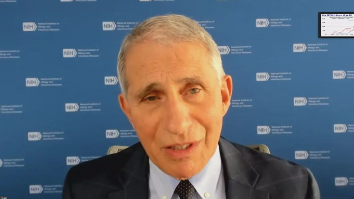 Dr. Anthony Fauci, one of the nation's top infectious disease experts, provided a COVID-19...