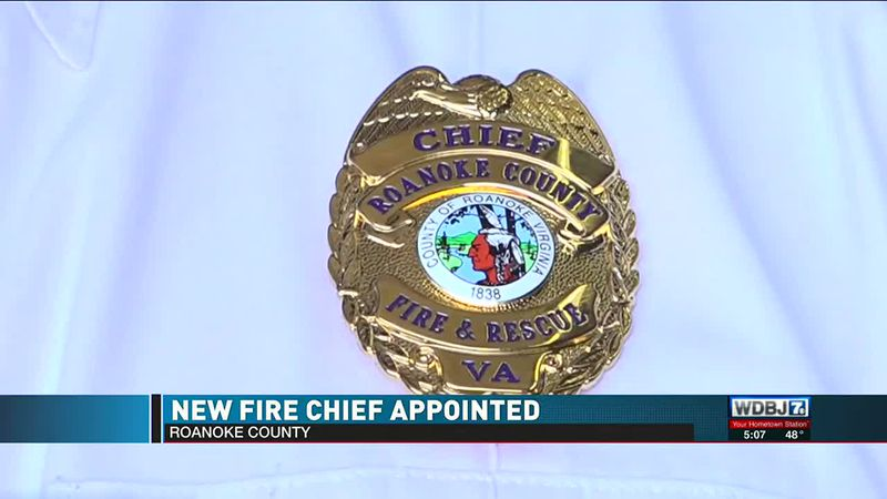 Roanoke County New Fire Chief Appointed