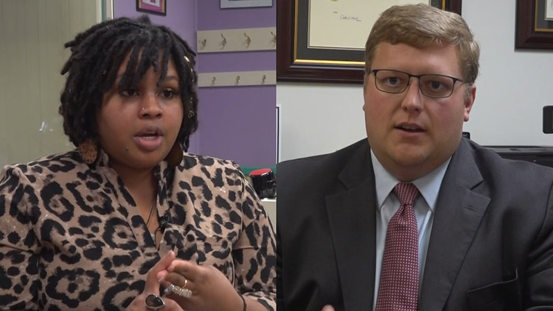 Bridgette Craighead (D) and Wren Williams  (R) both felt the need to serve their communities in...