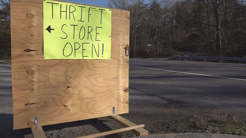 A local thrift shop in Christiansburg said they are hopeful people will continue to shop local...
