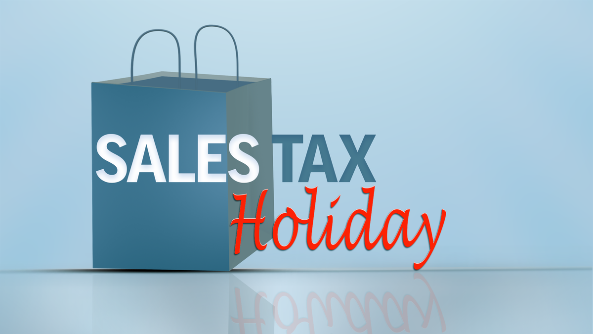 Virginia's Sales Tax Holiday is this Friday through Sunday.