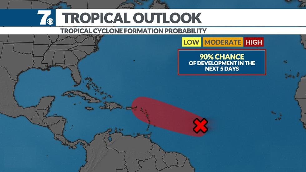 NHC 5 Day Forecast