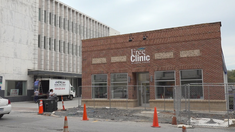 The Free Clinic of Central Virginia has nearly completed its renovations.
